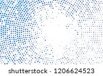 light blue vector texture in...   Shutterstock .eps vector #1206624523