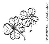 Four Leaf Clover. Decorative...
