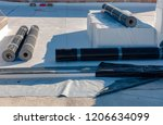 stratigraphy of the materials... | Shutterstock . vector #1206634099