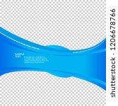 freshness natural theme  a... | Shutterstock .eps vector #1206678766