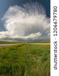 Supercell Thunderstorm Over The ...