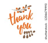 handwritten vector lettering... | Shutterstock .eps vector #1206679993