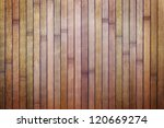 Wooden dirty background of purple bamboo boards - stock photo