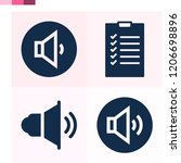 contains such icons as... | Shutterstock .eps vector #1206698896