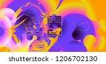 luid color background. liquid... | Shutterstock .eps vector #1206702130