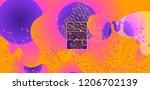 luid color background. liquid... | Shutterstock .eps vector #1206702139