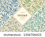 willow bough by william morris  ... | Shutterstock .eps vector #1206706423