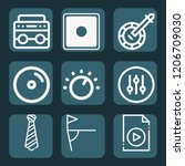 contains such icons as corner ... | Shutterstock .eps vector #1206709030