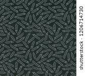 black board. seamless endless... | Shutterstock .eps vector #1206714730