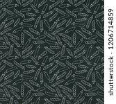 black board. seamless endless... | Shutterstock .eps vector #1206714859