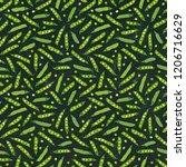 black board. seamless endless... | Shutterstock .eps vector #1206716629