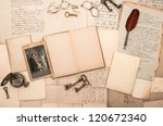Open Book  Antique Accessories...