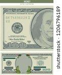 holiday christmas savings or... | Shutterstock .eps vector #1206796189