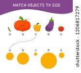 matching children educational... | Shutterstock .eps vector #1206817279