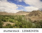 indus river  ladakh  2016   Shutterstock . vector #1206824356