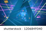 3d illustration background for ... | Shutterstock . vector #1206849340