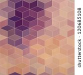 rhombic seamless pattern with... | Shutterstock .eps vector #120685108