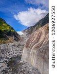 franz josef glacier landscape ... | Shutterstock . vector #1206927550