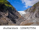 franz josef glacier landscape ... | Shutterstock . vector #1206927556