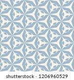 raster seamless geometric... | Shutterstock . vector #1206960529