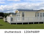 luxurious static caravavans in... | Shutterstock . vector #120696889