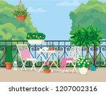 vector flat illustration. white ... | Shutterstock .eps vector #1207002316
