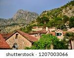kotor town  montenegro   Shutterstock . vector #1207003066