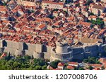 dubrovnik city walls view   Shutterstock . vector #1207008706