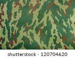 fabric khaki camouflage texture | Shutterstock . vector #120704620