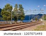 rjukan  norway   july 14  2018  ... | Shutterstock . vector #1207071493