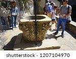 bran castle romania may 05 ... | Shutterstock . vector #1207104970