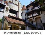 bran castle romania may 05 ... | Shutterstock . vector #1207104976