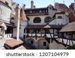 bran castle romania may 05 ... | Shutterstock . vector #1207104979