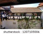 bran castle romania may 05 ... | Shutterstock . vector #1207105006
