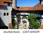bran castle romania may 05 ... | Shutterstock . vector #1207105039