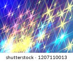 background of twinkling stars | Shutterstock . vector #1207110013