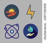 energy icon set. vector set...   Shutterstock .eps vector #1207150330