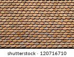 Asian Wooden Roof Texture