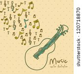 illustration of a music icon ... | Shutterstock .eps vector #120718870