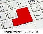 white keyboard | Shutterstock . vector #120719248