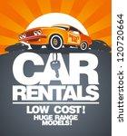 car rentals design template... | Shutterstock .eps vector #120720664