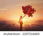 follow your dream  inspiration... | Shutterstock . vector #1207216603