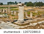 hierapolis   an ancient city... | Shutterstock . vector #1207228813