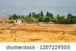 hierapolis   an ancient city... | Shutterstock . vector #1207229503