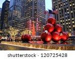 new york city   dec. 5  2011 ... | Shutterstock . vector #120725428