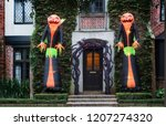 the house is decorated for...   Shutterstock . vector #1207274320
