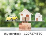 business real estate investment ... | Shutterstock . vector #1207274590