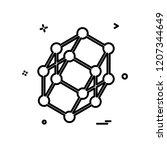 network icon design vector | Shutterstock .eps vector #1207344649