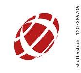 abstract globe stripes sphere ...   Shutterstock .eps vector #1207386706