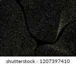 gold silver platinum curve... | Shutterstock .eps vector #1207397410